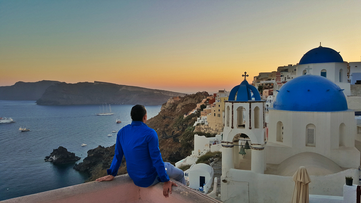 Athens and Santorini Package
