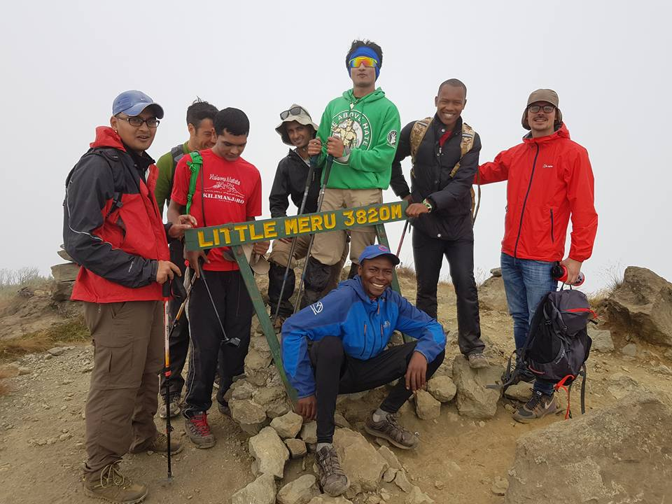 Mt Meru Expeditions Summit Team 2017